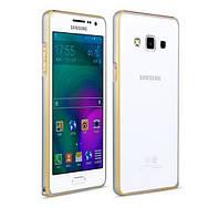 Бампер металлический Densen для Samsung A500H Galaxy A5 Silver