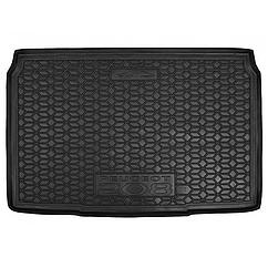 Мягкий полиуретановый коврик в багажник Peugeot 208 / Пежо 208 2021+