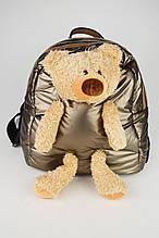 Рюкзак с мишкой Batty 9262 Хаки