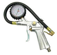 Пневмопистолет с манометром для подкачки колес (15 атм.) (Sumake SA-6600A)
