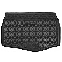 Мягкий полиуретановый коврик в багажник Volkswagen T-Cross 2019-, нижний/Фольксваген Т-крос