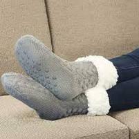 Плюшеві шкарпетки-тапочки Huggle Slipper Socks, фото 2