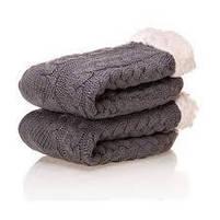 Плюшеві шкарпетки-тапочки Huggle Slipper Socks, фото 5