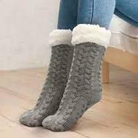 Плюшеві шкарпетки-тапочки Huggle Slipper Socks, фото 4