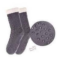Плюшеві шкарпетки-тапочки Huggle Slipper Socks, фото 3