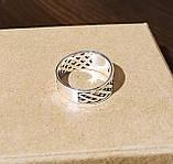 Серебряное кольцо с коловратом, фото 2