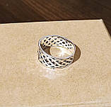 Серебряное кольцо с коловратом, фото 3