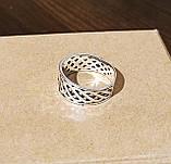 Срібне кільце з коловратом, фото 3