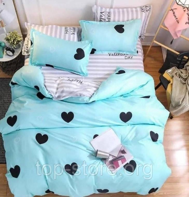 Двуспальное постельное белье Бязь Gold Размер 180*215