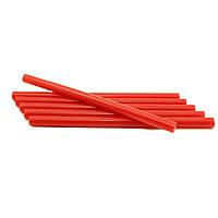 Термоклей для пистолета, диаметр-11мм, длина 200мм, красный, 1 шт