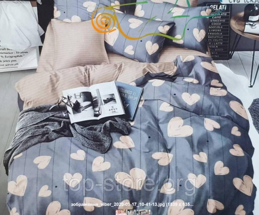 Комплект постельного белья Бязь Gold Размер 180*215 двуспальный