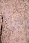 Рубашка блузка льняного цвета в стиле Бохо ,46,48,50,52,54 , Бл 001., фото 2
