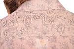 Рубашка блузка льняного цвета в стиле Бохо ,46,48,50,52,54 , Бл 001., фото 3
