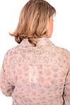 Рубашка блузка льняного цвета в стиле Бохо ,46,48,50,52,54 , Бл 001., фото 4