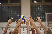 Як вибрати волейбольний інвентар. Сітки для волейболу, м'ячі та інші аксесуари
