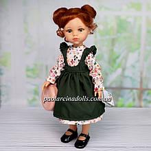 Лялька Паола Рейну Крісті у зеленому сарафані Paola Reіna