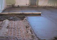 Стяжка пола (до 100мм) черновая