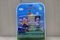 Набор фигурок Свинка Пеппа для детей на листе