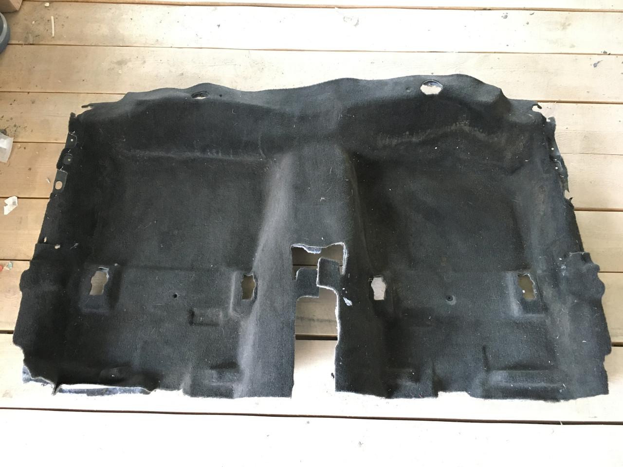 Покрытие пола Ford Fusion mk5 13- черн DS7Z-5411454-AD