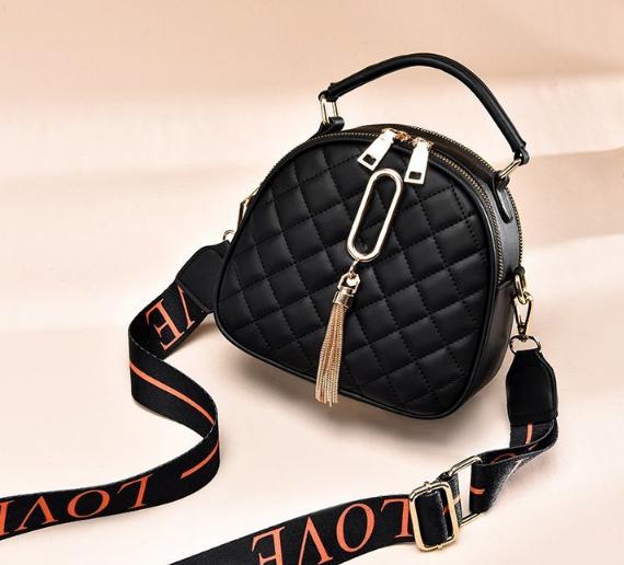 Рюкзак-сумка Sujimima чорний