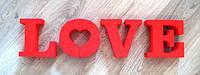 Буквы LOVE на любой вкус