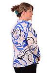 Блузка дитяча туніка з полірованого бавовни,46,48,50,52,54 , Бл 001-2, фото 2