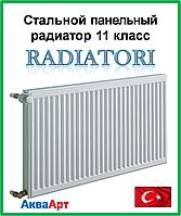 Стальной радиатор Raditori 11k 500*1500 боковое подключение