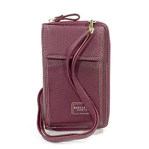 Жіночий гаманець Baellerry N0105 Red горизонтальне+вертикальне розташування сумка-клатч для дівчат