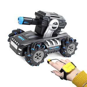 Детская машинка Lesko Water Bomb 2085 Blue с дистанционным управлением пули