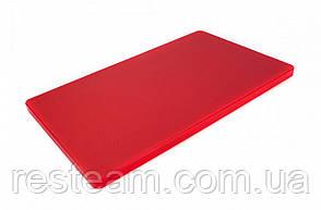 """Дошка двостороння LDPE, 500x300x20 мм, червона """"One Chef"""" Normak"""