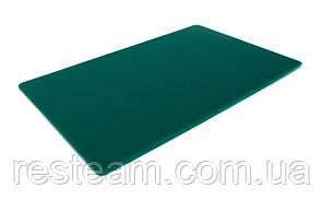 "Дошка двостороння LDPE, 600x400x13 мм, зелена ""One Chef"" Normak"