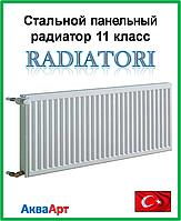 Стальной радиатор Radiatori 11k 300*1500 боковое подключение