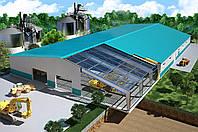 Строительство ангаров и складов под ключ
