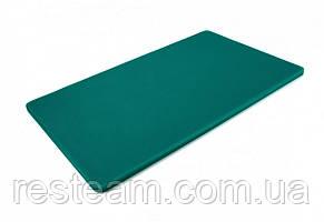 "Дошка двостороння LDPE, 500x300x12 мм, зелена ""One Chef"" Normak"