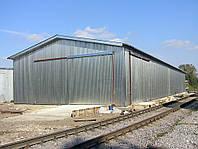 Каркасные здания из металлоконструкций