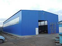 Возведение зданий из металлоконструкций