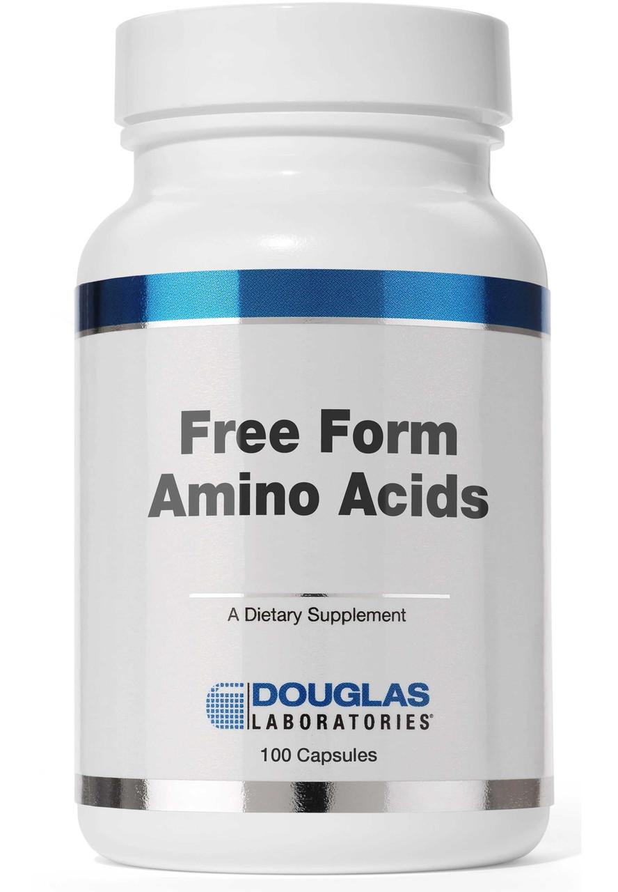 Смесь аминокислот для поддержания здоровья Douglas Laboratories Free Form Amino Caps 100 капсул