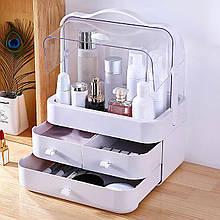 Органайзер для косметики Cosmeticd Storage Box , білий бокс для косметичних засобів