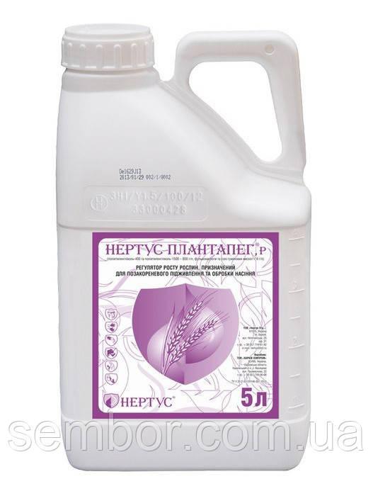 Нертус ПлантаПег 5л, стимулятор роста и протравитель семян, защита растений от болезней