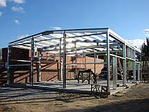 Будівництво будівель з легких металоконструкцій