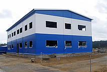 Легковозводимые будівлі з металоконструкцій