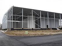 Монтаж металоконструкцій швидкомонтовані будівлі