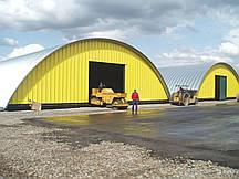 Швидкомонтовані склади з металоконструкцій