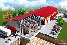 Збірні швидкомонтовані будівлі