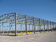 Монтаж металоконструкцій промислових будівель