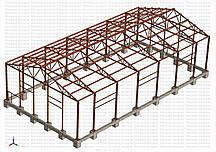 Виробництво і будівництво ангарів