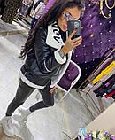 Дублянка жіноча зимова косуха з хутром Balenciaga, фото 9