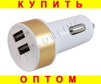 Универсальный адаптер для прикуривателя 2USB (USB 004) D100