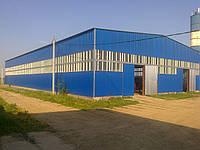 Строительство ангаров складов промышленных зданий