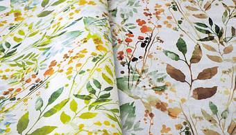Лето на Ваших окнах круглый год с новой тканью для рулонных штор Амазония.